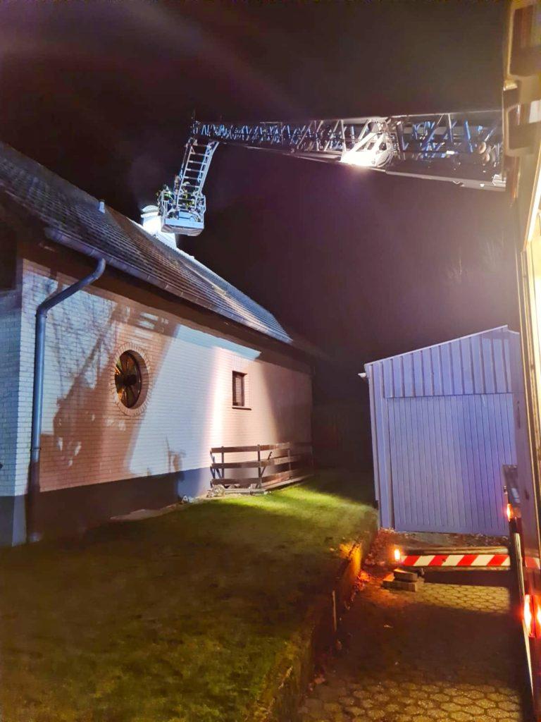 Donnerstag, 05.11.2020 - Schornsteinbrand in Kalterherberg
