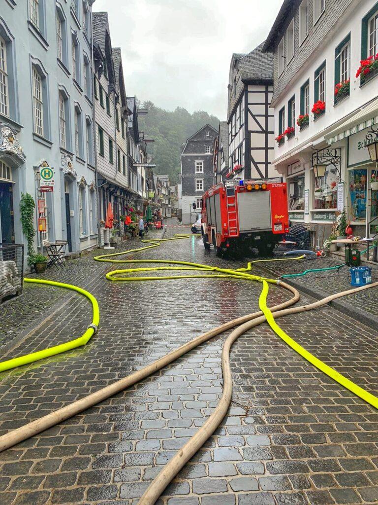 Donnerstag, 15.07.2021 - Unwetter- und Hochwassereinsatz in Monschau