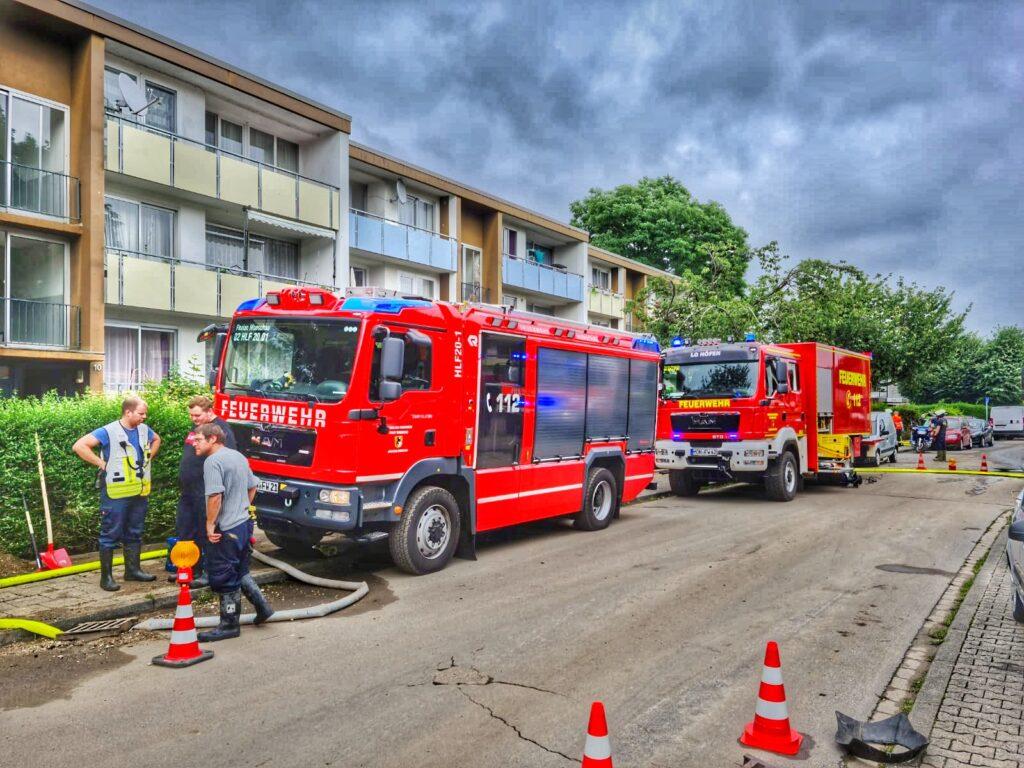 Freitag, 16.07.2021 - Überörtliche Hilfeleistung in Eschweiler